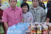 โครงการตักบาตรวันขึ้นปีใหม่เทศบาลตำบลหนองม่วง ประจำปี 2561